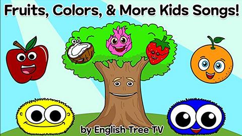 English Tree TV: Fruits, Colors & Shapes